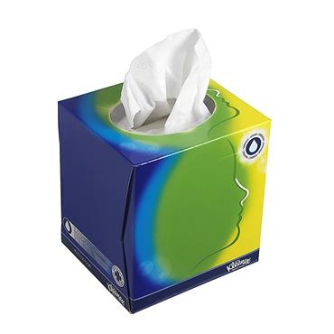 Kleenex Balsam Facial Tissues Cube 56 Pack