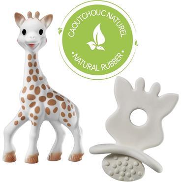 Sophie the Giraffe Sophie the Giraffe & So Pure Natural Teether Set
