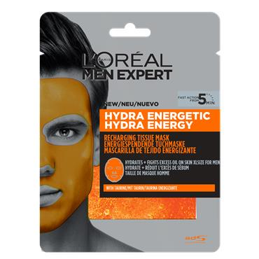 L'Oreal Paris Men Expert Hydra Energetic Tissue Mask 30g