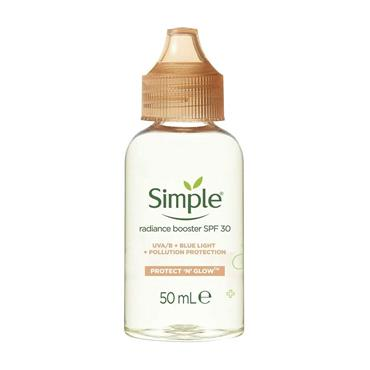 Simple Protect 'n' Glow Radiance booster SPF30 50ml