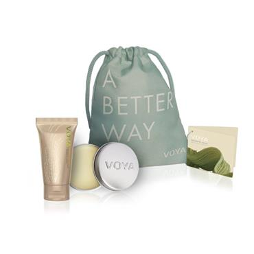 Voya Touched By A Kiss , Gift Set In Pouch Bag