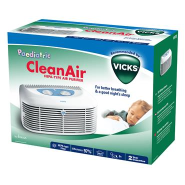 Vicks Air Cleaner with Night Light| V9071