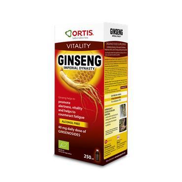 Ortis Vitality Ginseng 250ml