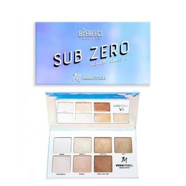 BPerfect X Mmmmitchell Sub Zero Highlighter Palette