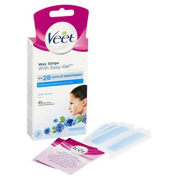 Veet 40 Wax Strips Face