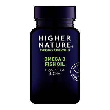 Higher Nature Omega 3 Fish Oil Capsules