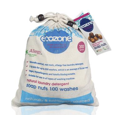 Ecozone Soap Nuts 300g Natural Laundry Detergent
