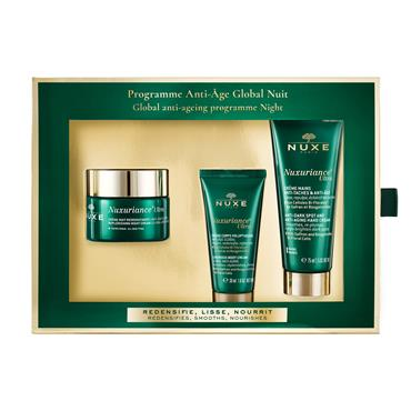Nuxe Nuxuriance Ultra Night + Free Hand + Body 30ml Set