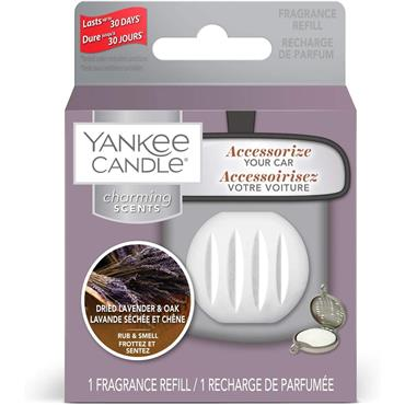 Yankee Candle Dried Lavender & Oak Charming Scents Fragrance Refill