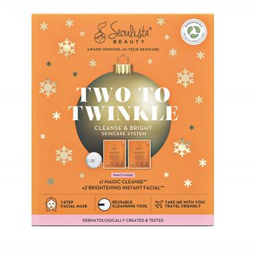 Seoulista Beauty Two To Twinkle Cleanse & Brighten Gift Set