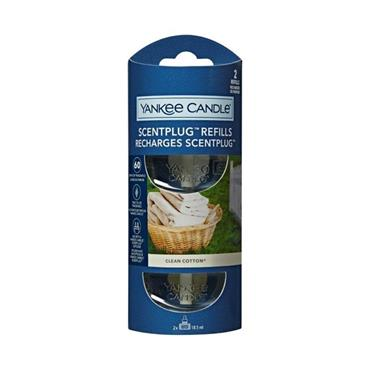 Yankee Candle Clean Cotton Scent Plug Refill