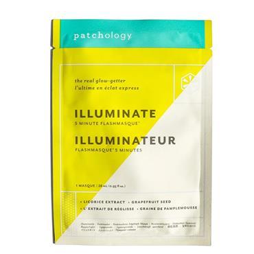 Patchology FlashMasque Illuminate 5 Minute Sheet Masks  (Single)