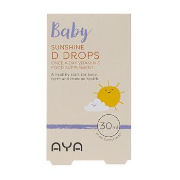 Aya Baby Vitamin D Drops 30ml