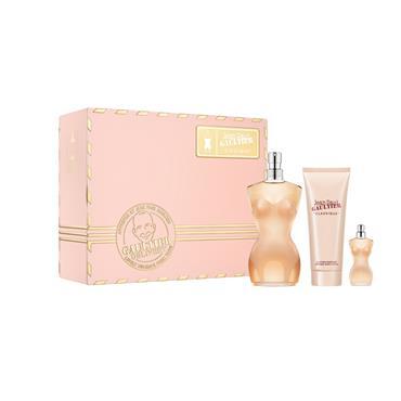 Jean Paul Gaultier Classique 50ml Eau de Toilette +75ml Body lotion + Miniature Gift Set