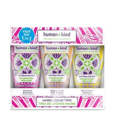 Human + Kind Hand Cream Trio