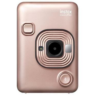 Instax Mini LiPlay Bundle   Blush Gold