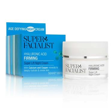 Super Facialist Hyaluronic Acid Firming Super Lift Night Cream 50Ml