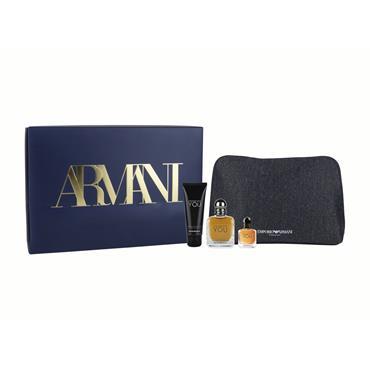 Armani Stronger With You Eau de Toilette Gift Set for him
