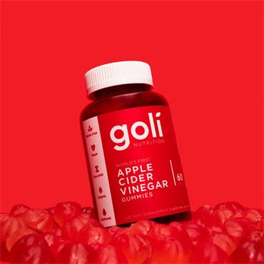 Goli Apple Cider Vinegar Gummies 60S