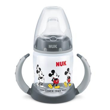 NUK Disney Mickey Mouse First Choice Learner Bottle with Temperature Control 150ml 6-18 months