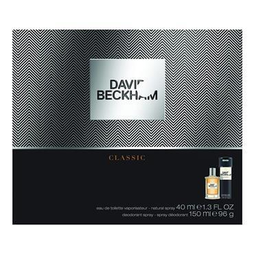 David Beckham Classic Gift Set 40ml EDT + 190ml Body Spray