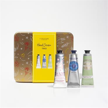 L'Occitane Hand Cream Trio Collection