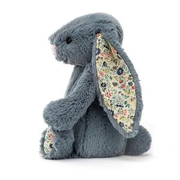 Jellycat Blossom Dusky Blue Bunny Medium