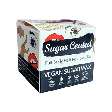 Sugar Coated Full Body Hair Removal Kit 250g