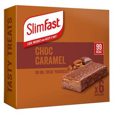SlimFast Chocolate Caramel Snack Bar Multipacks 6X26g