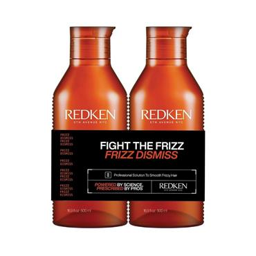 Redken Frizz Dismiss Shampoo & Conditioner 500ml Duo (NEW LARGER SIZE)