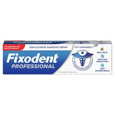 Fixodent Professional Ultimate Adhesive Cream 40g