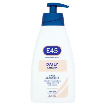 E45 Daily Cream Fast Absorbing 400Ml
