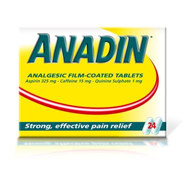Anadin Tablets 24 Pack