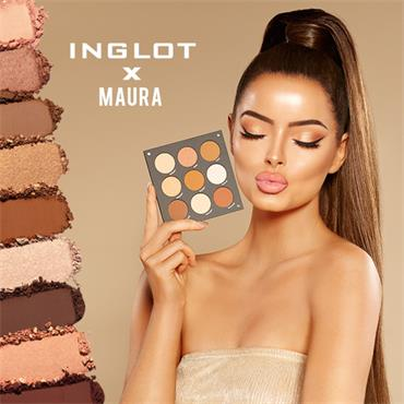 Inglot Cosmetics X Maura Fire It Up