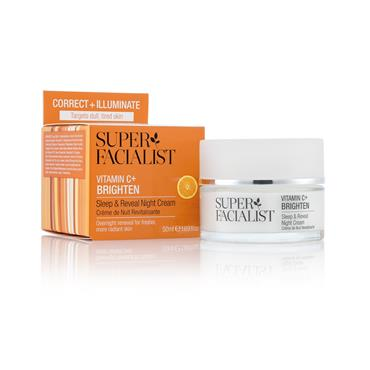 Super Facialist Vitamin C+ Sleep & Reveal Night Cream 50Ml