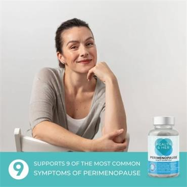 Health & Her Perimenopause Supplement 60 Capsules