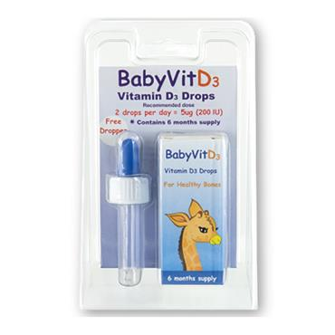 Shield Baby Vit D3 (200iu) Drops