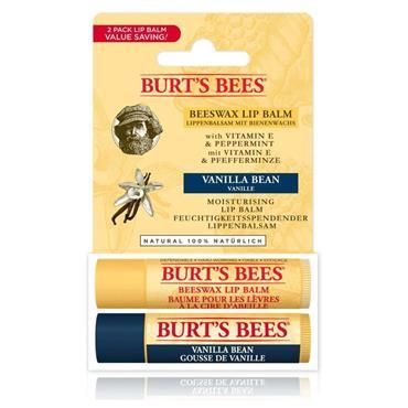 Burt's Bees Beeswax & Vanilla Lip Duo (4.25g x 2)