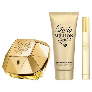 Paco Rabanne Lady MILLION Eau de Parfum 80ml Gift Set
