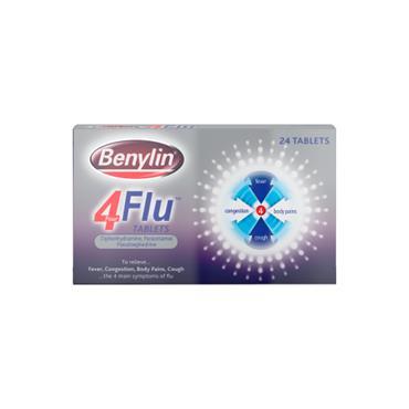 Benylin 4 Flu 24 Tablets