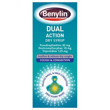 Benylin Dual Action 125ml
