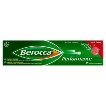 Berocca Exotic Multivitamin 15 Tablets