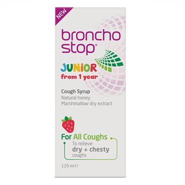 Bronchostop Junior Cough Syrup 120ml