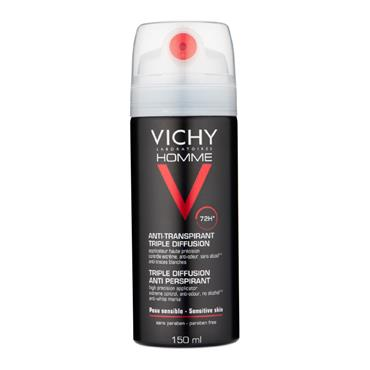 Vichy Homme Triple Diffusion Deodrant 150ml