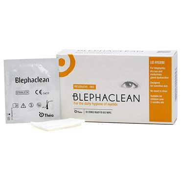 Blephaclean Eyelid Cleansing Wipes 20 Pack