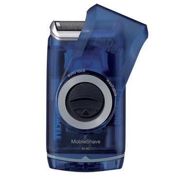 Braun Pocket Go Shaver Blue |BRAM60B