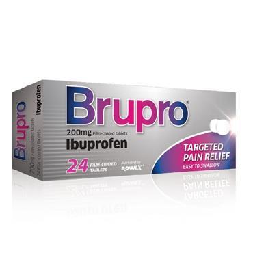 Brupro Ibuprofen 200mg 24 Tablets