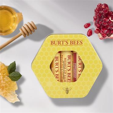 Burt's Bees Burt's Lip Balm Trio Tin