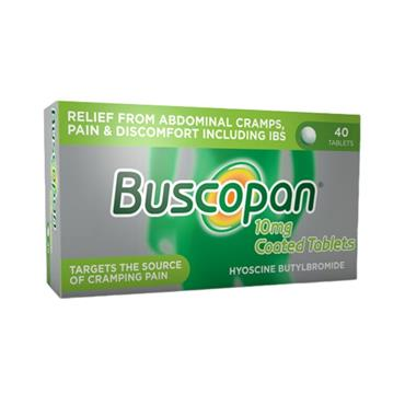 Buscopan 10mg Tablets 40 Pack