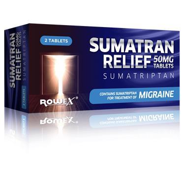 Sumatran Relief 50mg 2 Tablets